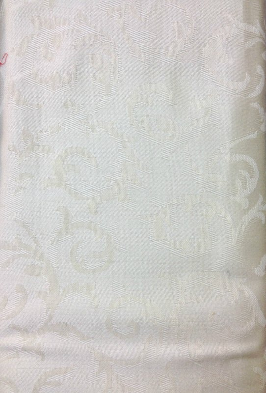 Madison Avenue Collection - Piece Dyed Jacquard Solids - Plain Ivory 2340