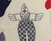Doll Panel Springs Industries Billy Bob The Rooster Fabric Panel