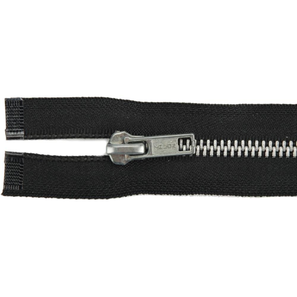 YKK Loose Package Heavyweight Aluminum Separating Metal Zipper 27''