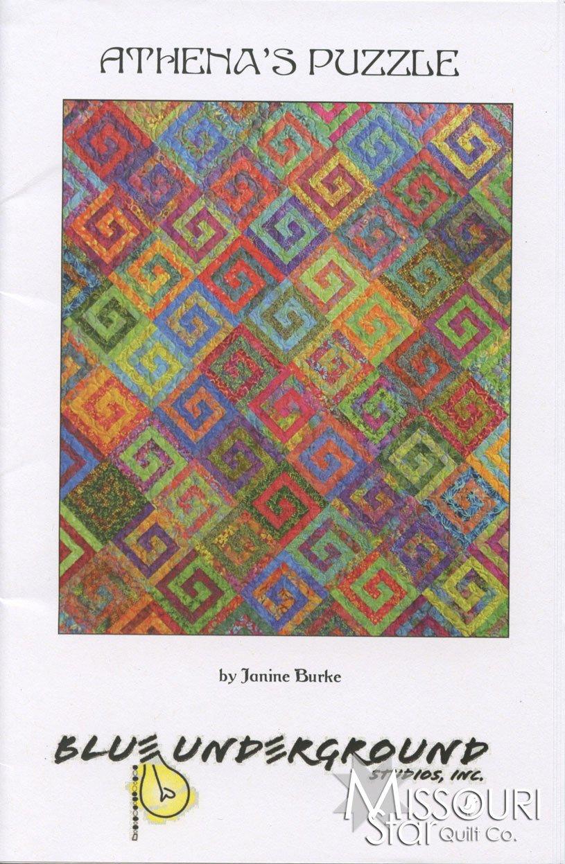Athena's Puzzle Quilt Pattern Blue Underground Studios, Inc.