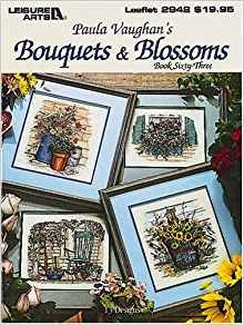 Book Paula Vaughan's Bouquets & Blossoms: 13 Designs, Book Sixty-Three (Leaflet 2942) Paperback – 1997