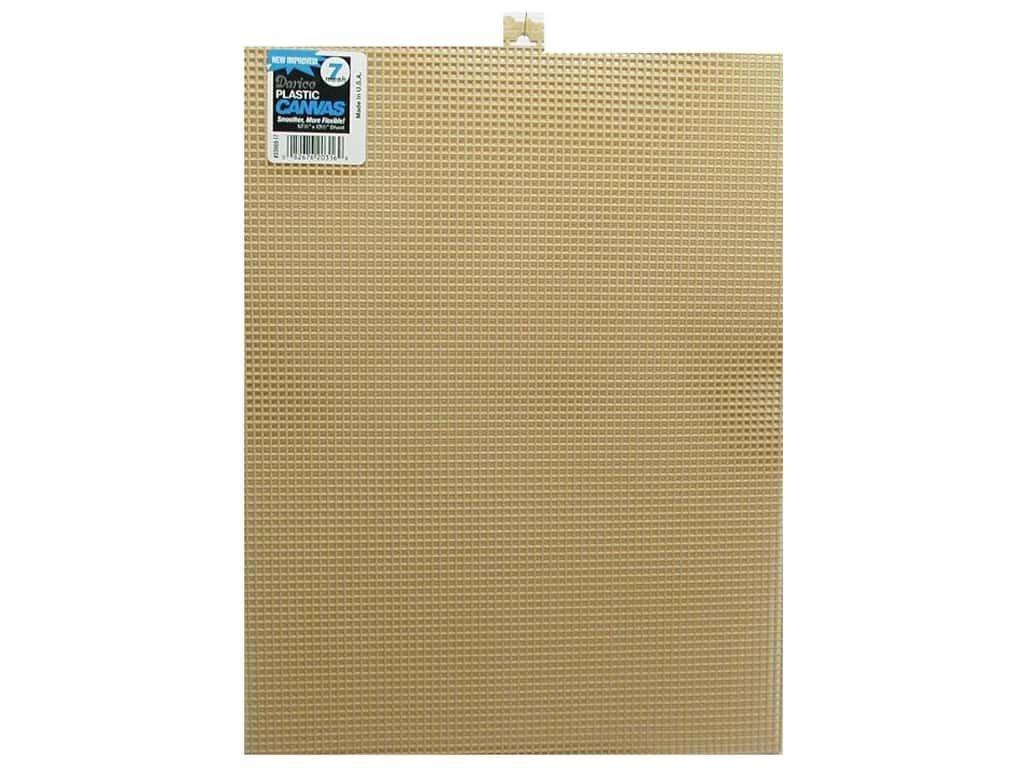 Plastic Canvas 7 mesh 10 1/2 x 13 1/2 Brown