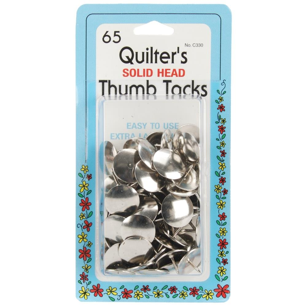 Quilter's Thumb Tacks 65Ct. #C330 Collins