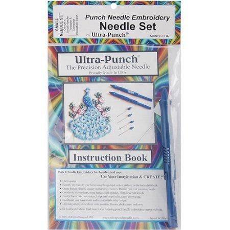 Notions Needlework Cameo Large Punchneedle Embroidery