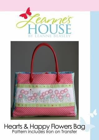 Hearts & Happy Flowers Bag