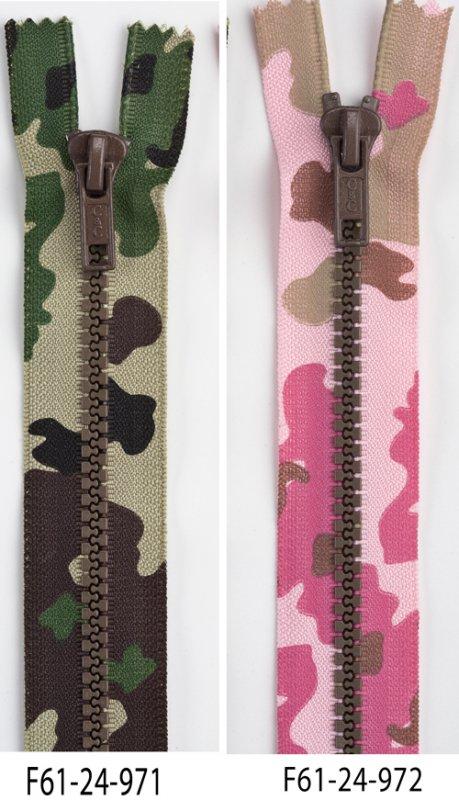 Coats Fashion Mode Camouflage Separating Zipper 24 classic