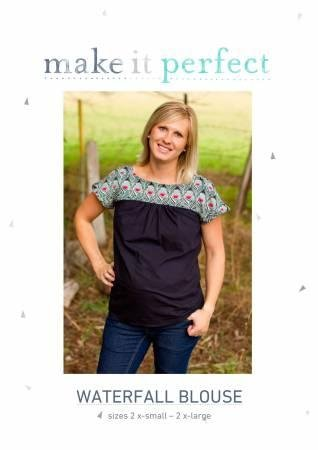 Waterfall Blouse Sewing Pattern Make It Perfect