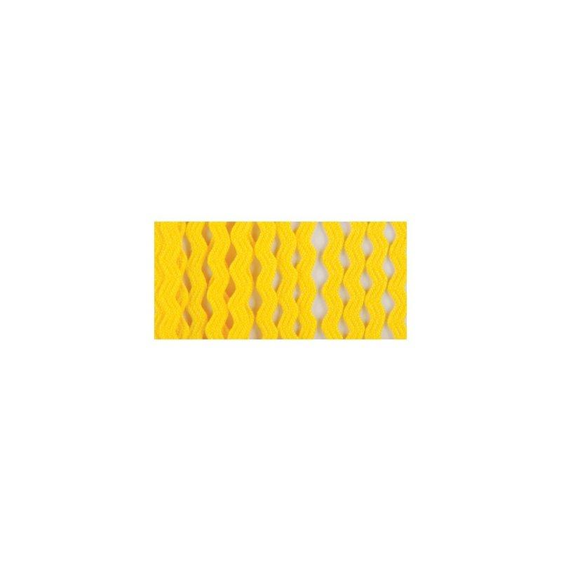 Trim Rick Rack Baby 1/4 inch 4 Yards Canary Yellow 086 Wright's