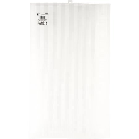Plastic Canvas - Ultra Stiff - Clear - 13-5/8 x 22-1/2 #7 Mesh