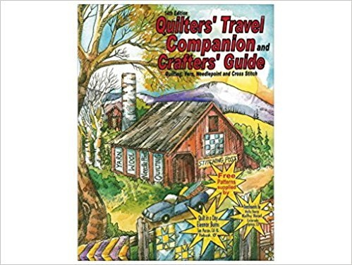 Quilters' Travel Companion 14th edition 2016- Book