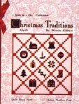 Kit Christmas Traditions Block Party Four 11 3/4 yards included Quilt in a Day Complete Kit for Top