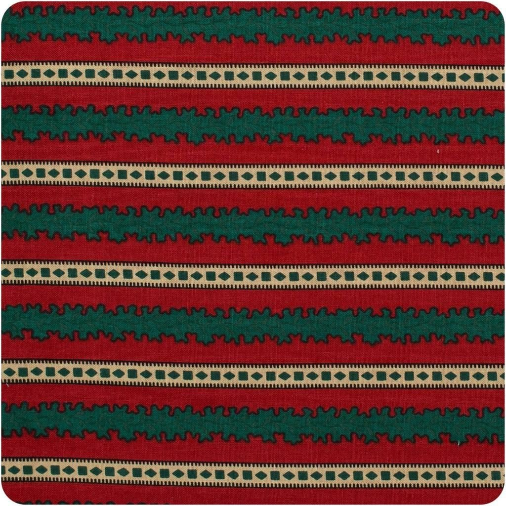 Fabric Cotton MARCUS BROTHERS Julie Rothermel Colonial Christmas 44/45''  100% Cotton