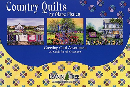 Gifts Greeting Cards Leanin' Tree Country Quilts