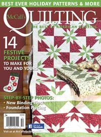 Magazine McCall's Quilting The Best of American Quilting Nov/Dec 2016