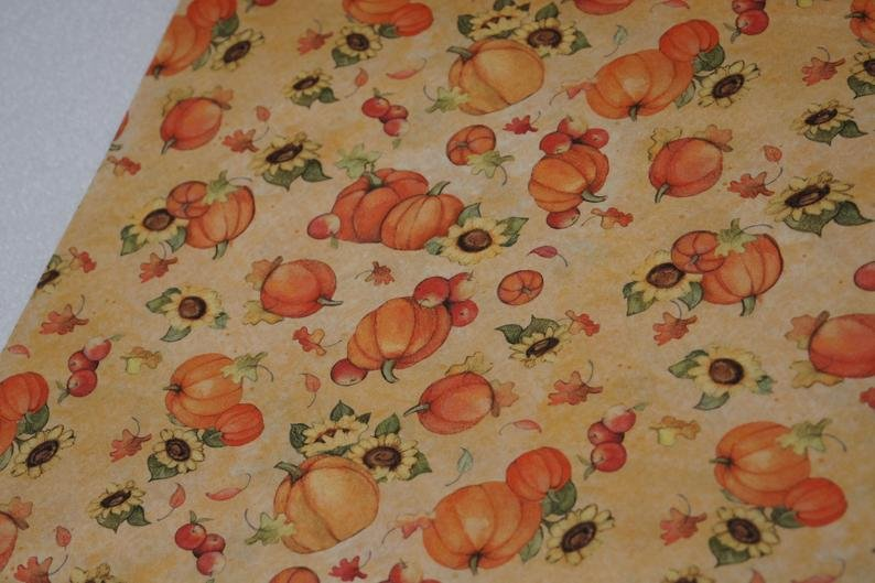 Pumpkin and Sunflower Toss by Susan Winget