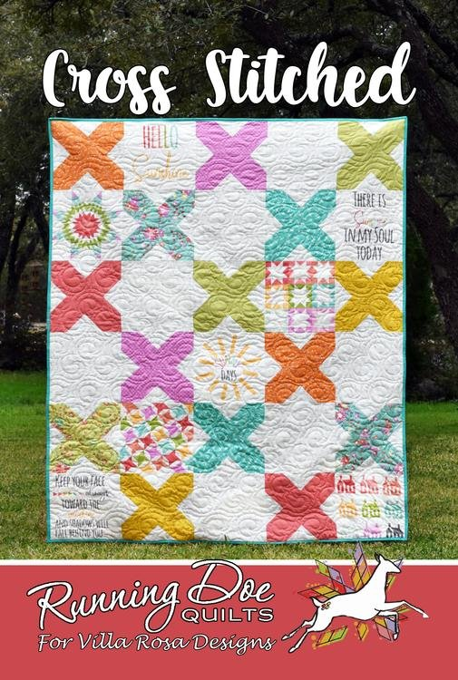 Pattern Quilting Cross Stitched by Villa Rosa Designs