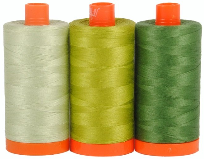 Aurifil Color Builders Dolomite Green