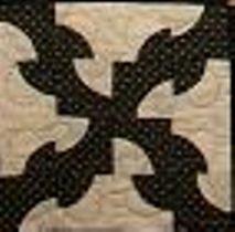 Kit URR Drunkard's Path 6 Block Underground Railroad Sampler (Quilt in a Day Series)