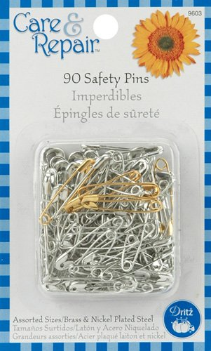 Prym Sewing Super Value Pack 90 Assorted sizes Safety pins