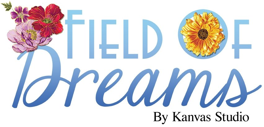Field of Dreams Fat Quarters by each by Benartex