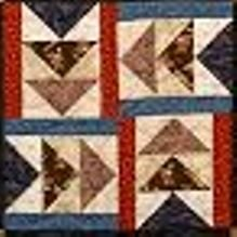 Kit URR Flying Geese 6 Block Underground Railroad Sampler (Quilt in a Day Series)