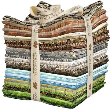Naturescapes Precuts - Single Colorway FQNATSC40-94 Fat Quarter Each