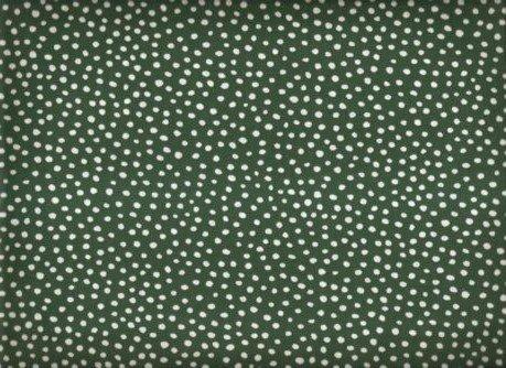 Ditsy Dots Hunter Green Marshall Dry Goods FD04 FUN DOTS 44'' COTTON