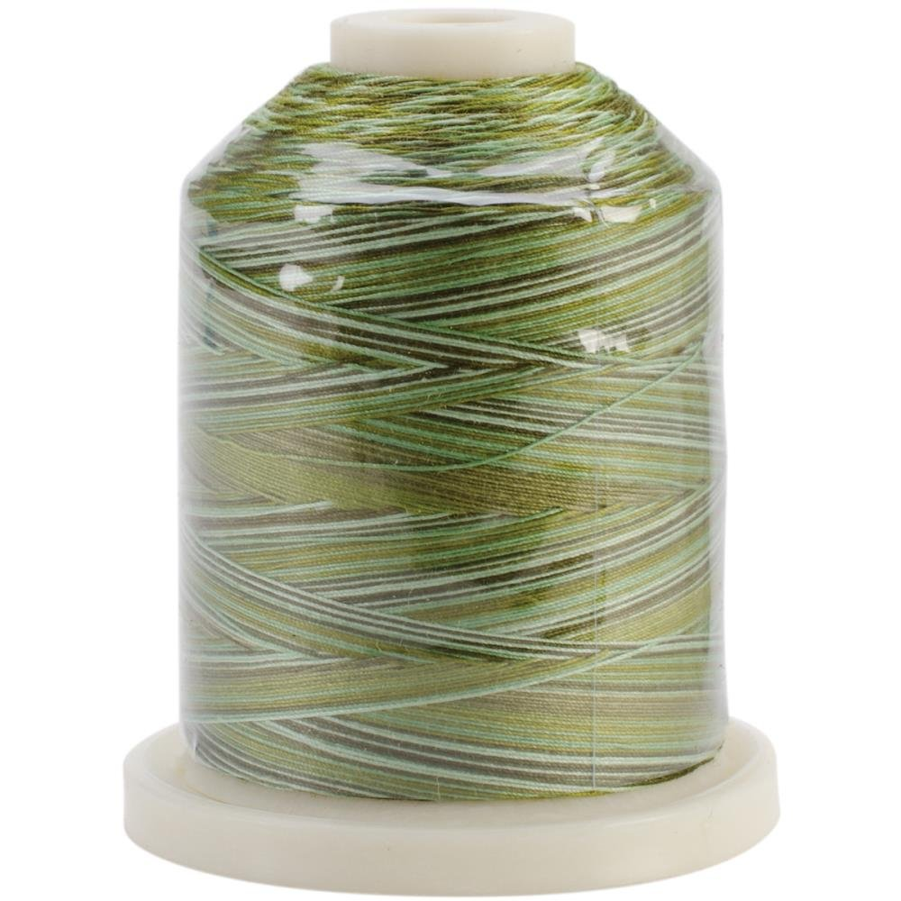 Signature Quilters Threads Grassy Greens