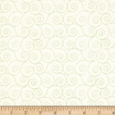 P&B Basically Hugs 100% Cotton - Green/Cre1 #25041