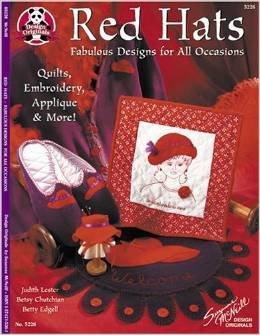 Design Originals Book Red Hats Quilts Accessories & More!