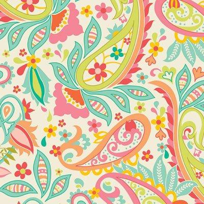 Fabric Cotton Riley Blake Designs 55/56  HD5000- CREAM