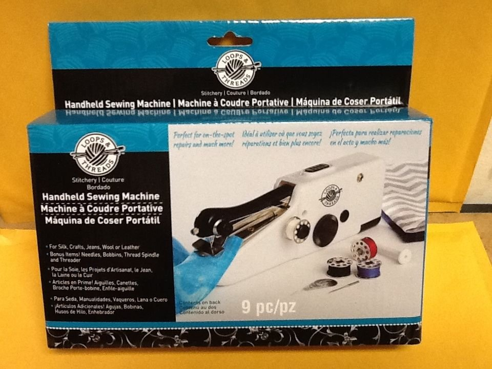 Loops Threads Handheld Sewing Machine 40 New Handheld Sewing Machine Reviews