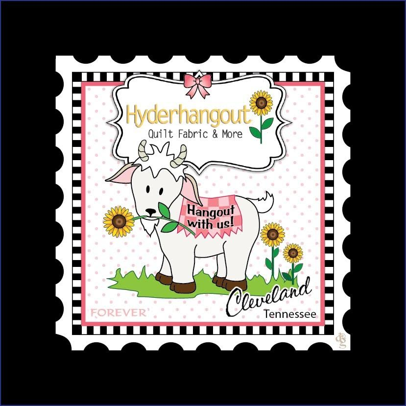 Fabric Custom Charm Stamp Collector Hyderhangout 5 x 5