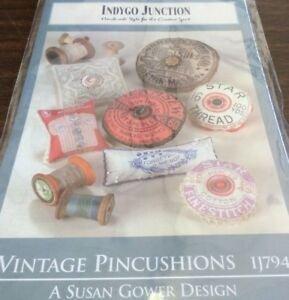 Vintage Pincushions Pattern