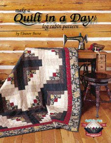 Book Log Cabin Eleanor Burns Make a Quilt in a Day