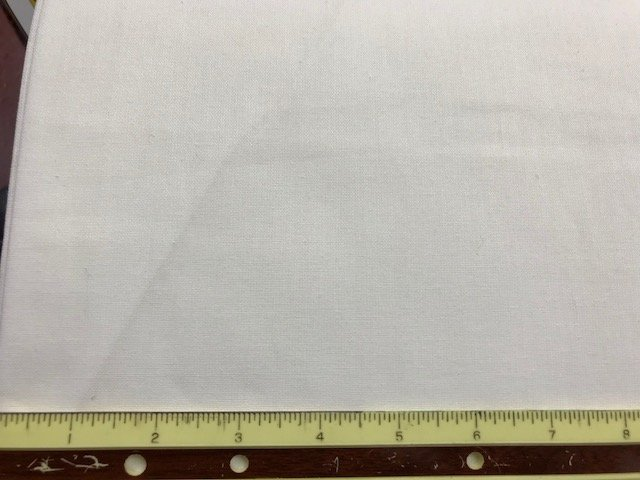 Sheeting White 60'' wide 100% Cotton Heavier Weight