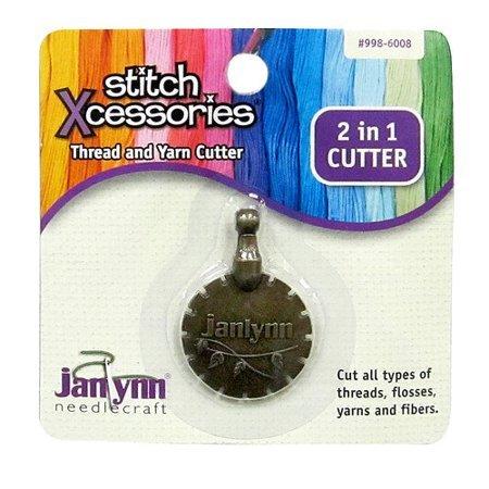 Notions Janlynn 2 In 1 Cutter Thread And Yarn