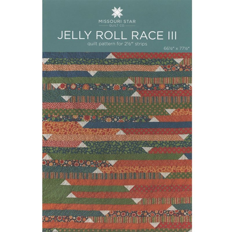 Jelly Roll Race 3 Quilt Pattern MSQC188 Missouri Star Quilt Company