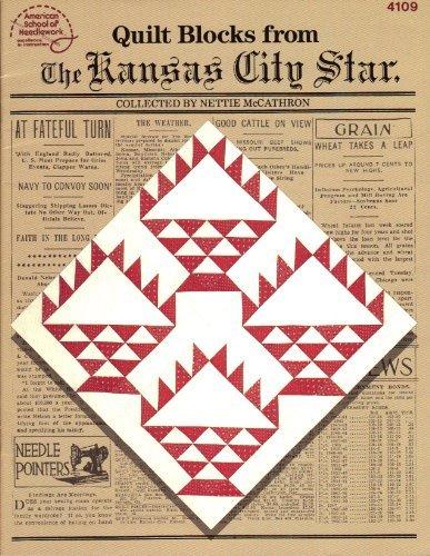 Booklet Quilt blocks from the Kansas City Star (American School of Needlework)