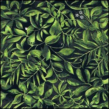 38 x WOF Leopards Jungle Leaves Allover Exclusively Quilters