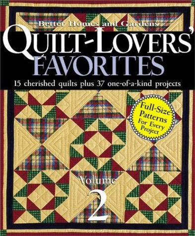 Book Better Homes and Gardens Quilt-Lovers' Favorites Quilt Pattern Book Volume 2