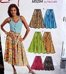 2007 McCall's Stitch ' n Save Skirt M5294 Size (14-16-18-20)