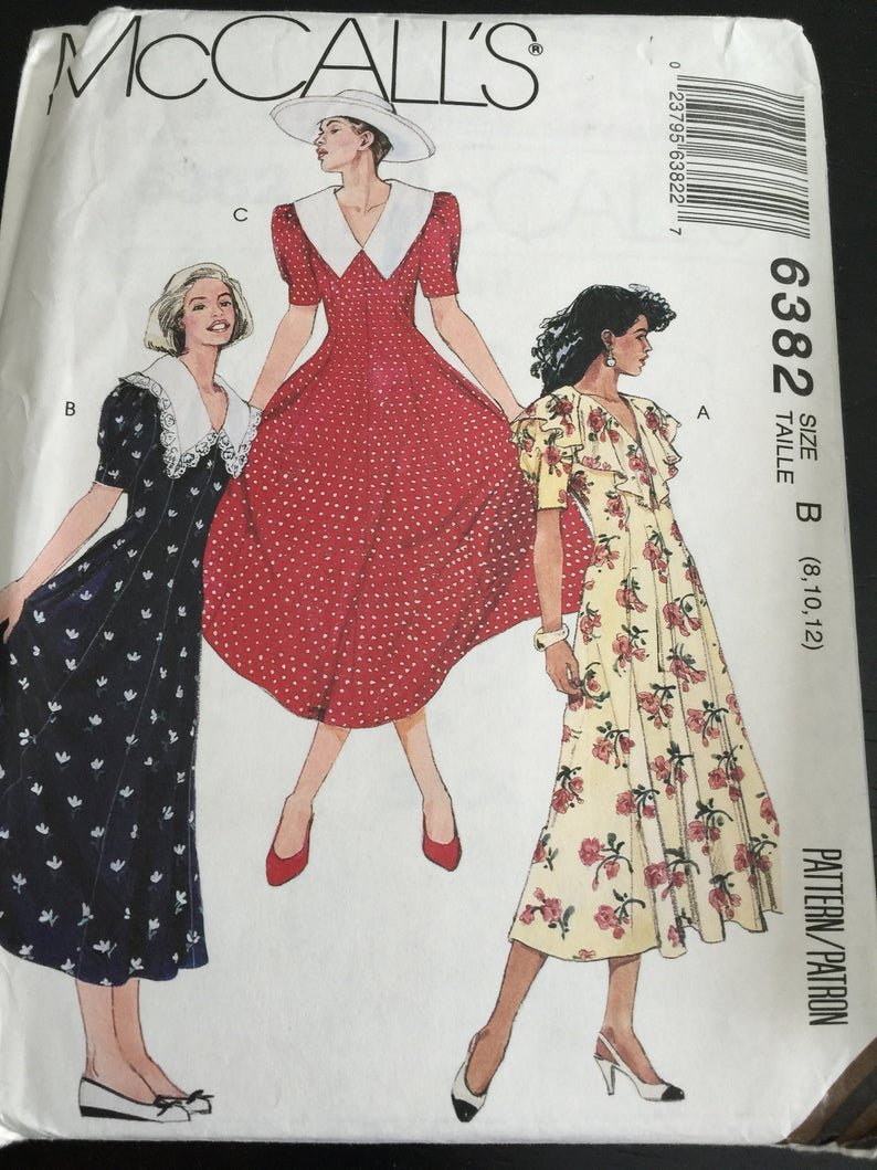 Misses Dress McCall's Pattern 6382 Size (101214)