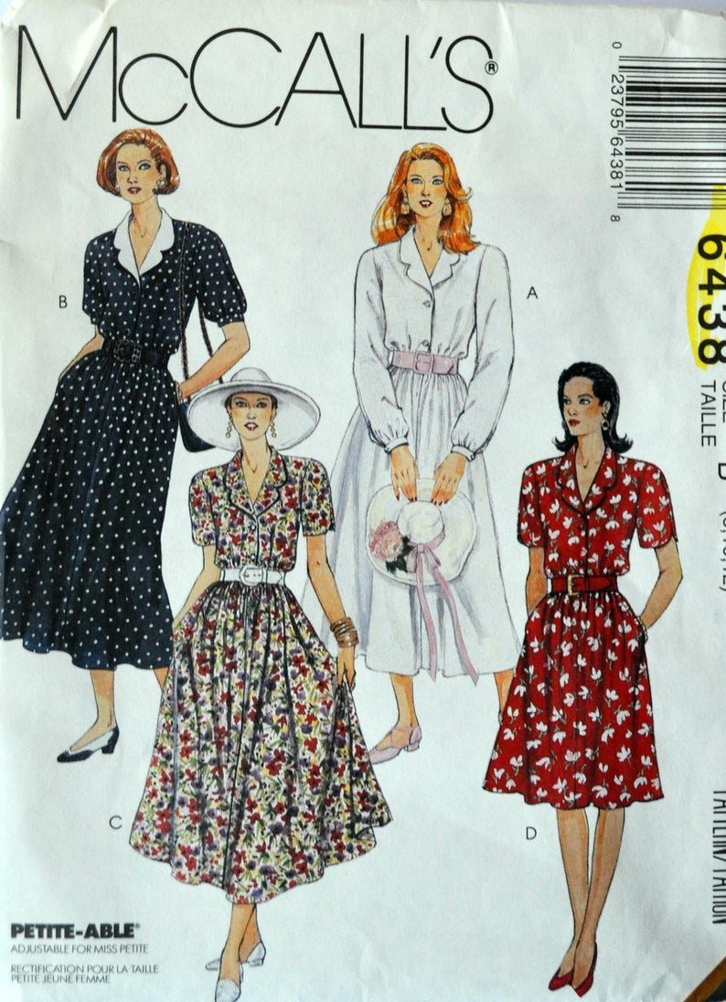 Misses Dress in Two Lengths McCall's Pattern Size (101214)