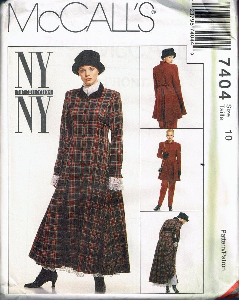 NEW YORK LINED DRESS SUIT  PATTERN McCall's SIZE 4