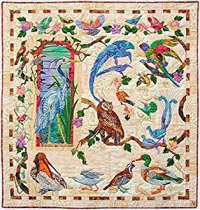 Pattern Feather & Song Series Maggie Walker 9 Applique Quilt Patterns