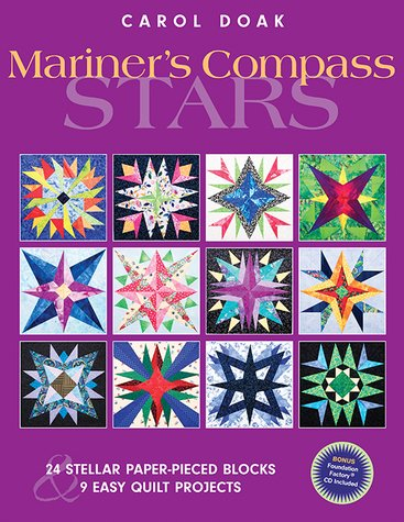 Book Mariner's Compass Stars: 24 Stellar Paper-Pieced Blocks & 9 Easy Quilt Projects