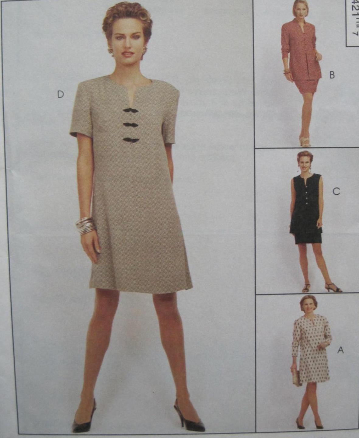 SEW NEWS PATTERN McCall's SIZES 12-14-16