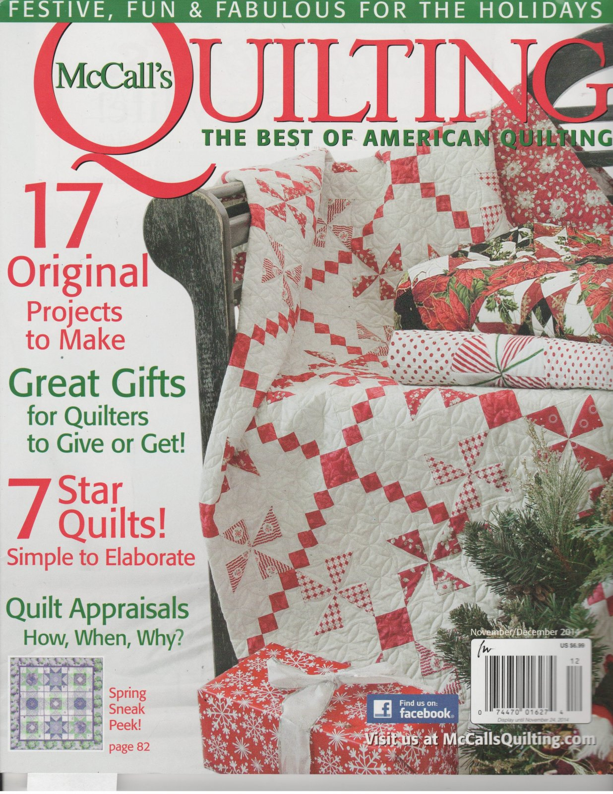 Magazine McCall's Quilting The Best of American Quilting Nov/Dec 2014