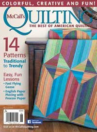 Magazine McCall's Quilting The Best of American Quilting May/June 2016